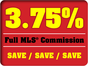 3.75% Full MLS Commission